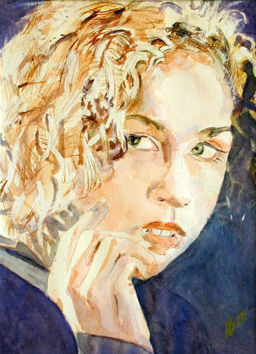 2000 Chelsea Water colours on paper 42 x 60cm